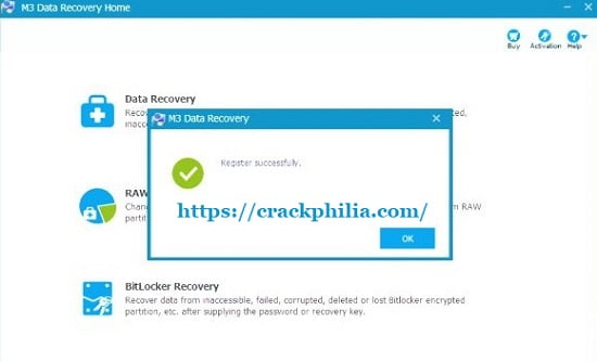 M3 Data Recovery 6.8 Crack + License Key Free Download 2022