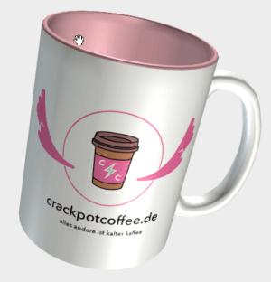 crackpot Kaffeebecher