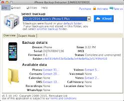 iPhone Backup Extractor 7.6.13.1841 Crack