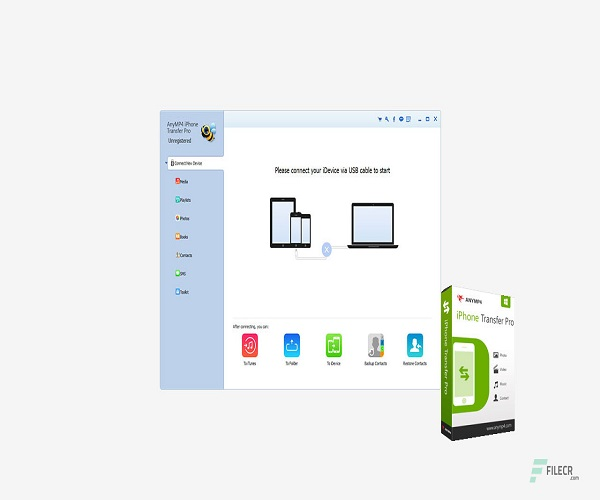 AnyMP4 iPhone Transfer Pro 9.1.30 Crack + Serial Key Latest 2021
