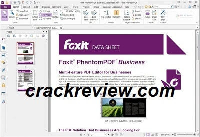 Foxit PhantomPDF Free Download With Crack Full Version