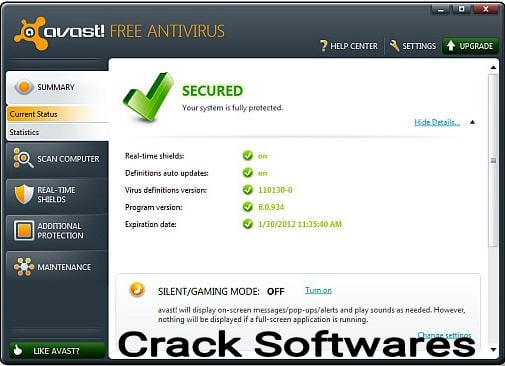 Avast 2021 Activation Code Full Version Free Download