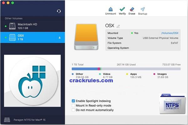 Paragon NTFS Crack 2019