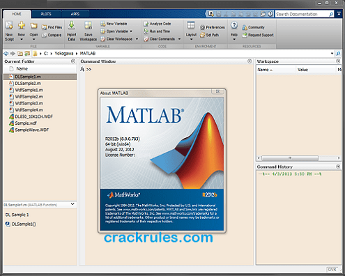 MATLAB Cracked Sample