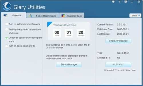 Glary Utilities Pro Cracked 2022