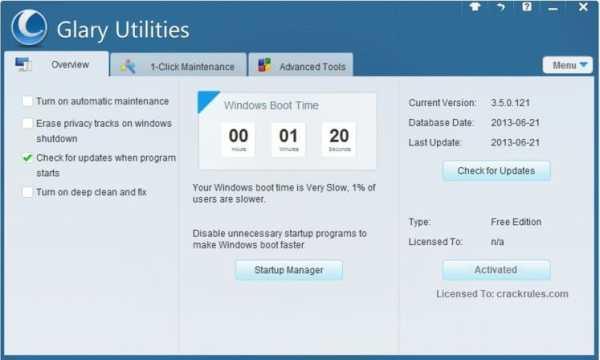 Glary Utilities Pro Cracked 2021