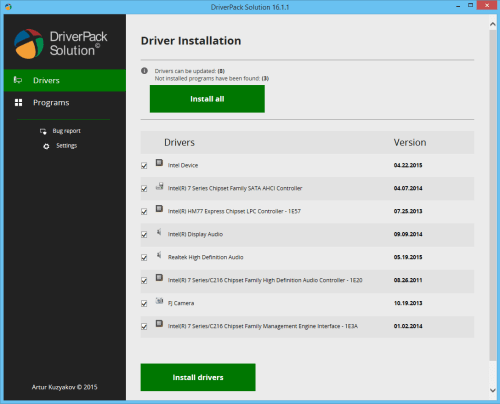 DriverPack Solution 16 ISO Free Download Full Version
