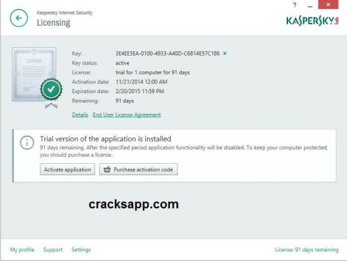 Kaspersky Internet Security 2015 Activation Code Free Download