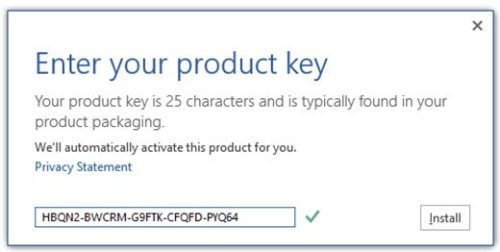 office 2013 retail activator