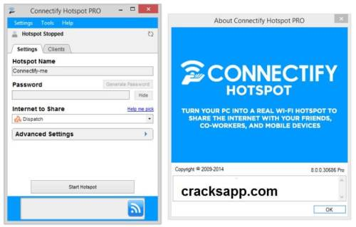 Connectify Hotspot Pro 2016 License Key Free Download