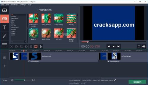 Movavi Video Editor 11.4.1 Crack Free Download