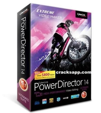 Cyberlink Powerdirector 14 Ultimate Crack Full Version