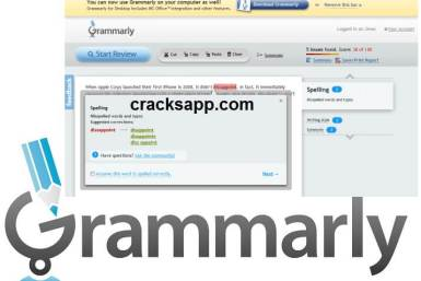 Grammarly 5.0.3.0 Crack Keygen Full Version Free Download