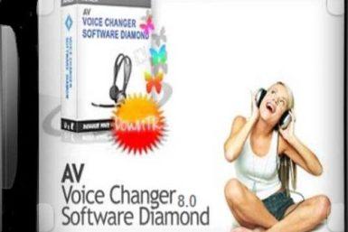 AV Voice Changer Diamond 8 Crack Plus Serial Number Full Download