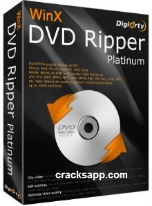Winx Dvd Ripper Platinum 7.5.15 License Key + Crack Full Free
