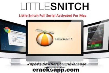 Little Snitch 3.6.3 Crack + Serial Key Generator Full Download