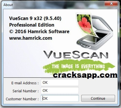 serial number vuescan 9 mac