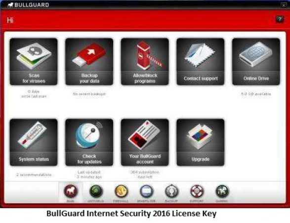 Bullguard Internet Security 2016 License Key & Keygen Updated