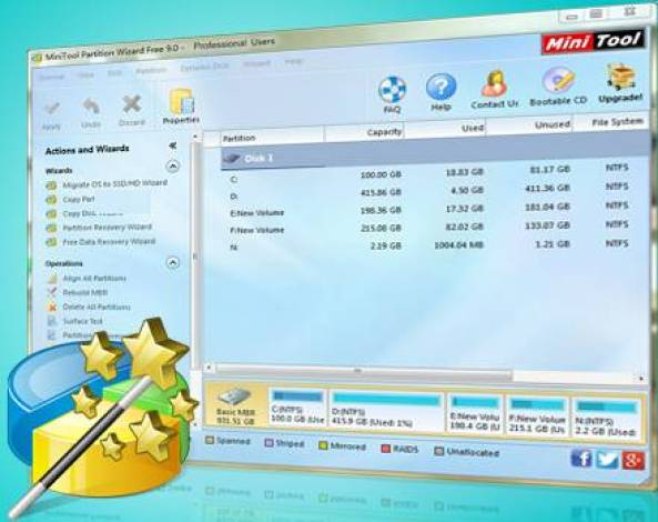 Minitool Partition Wizard Professional Edition Full Crack Download