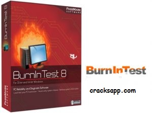 PassMark BurninTest Pro 8.1 Build 1022 Crack With Keys Full Version