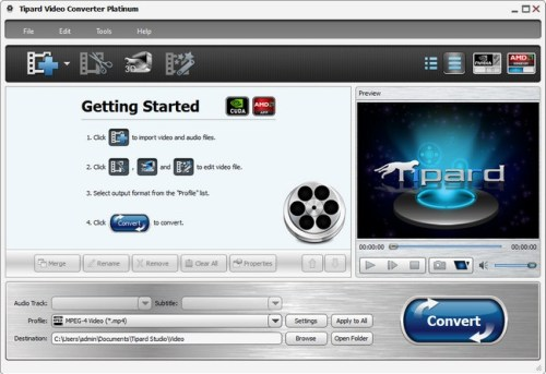 Tipard Video Converter Platinum Serial Key
