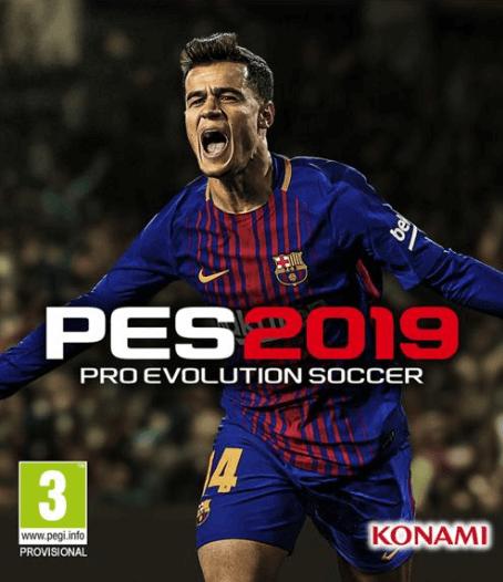 Pro Evolution Soccer 2019 CPY Crack Free Download
