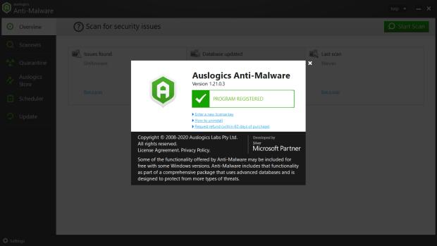 Auslogics Anti-Malware Premium License Key