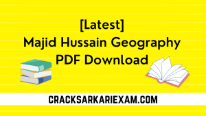 Majid Hussain Geography PDF Download