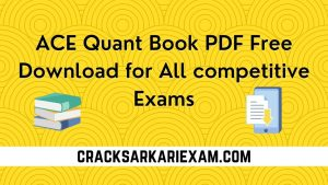 ACE Quant Book PDF Free Download for All competitive Exams