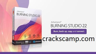 Ashampoo Burning Studio 22.0.5 Crack + Full Version 2021 Download