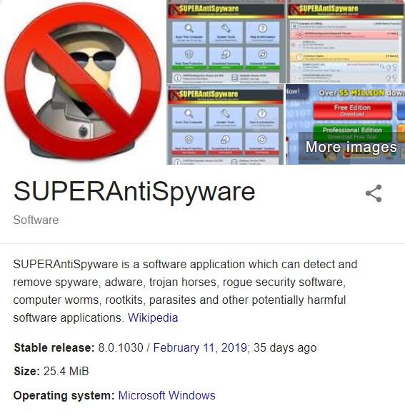 Superantispyware Professional Registration Code 2019 For Free