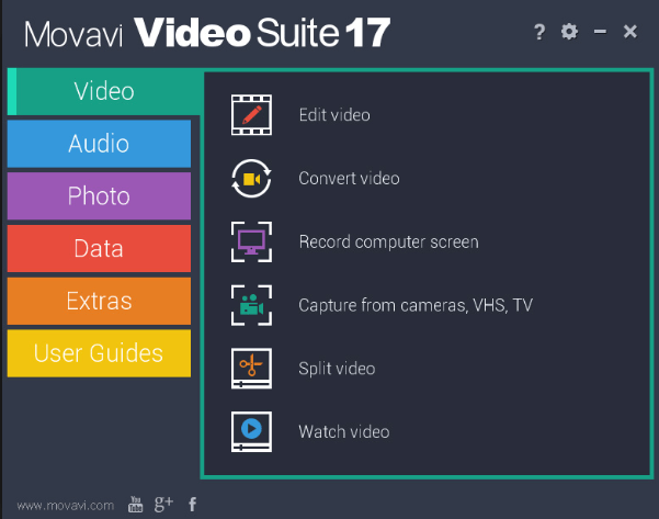 Movavi Video Suite 18.4.0.0 Crack Torrent + Activation key Full [2019]