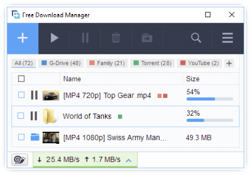Free Download Manager 5.1.34 Build 6924 Download