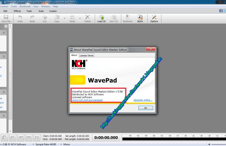 WavePad Sound Editor 8 01 For Windows Free Download