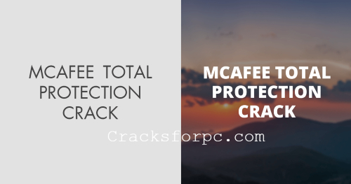 McAfee Total Protection crack