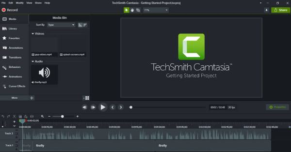 TechSmith Camtasia Crack & Activation Code [Updated] Free Download
