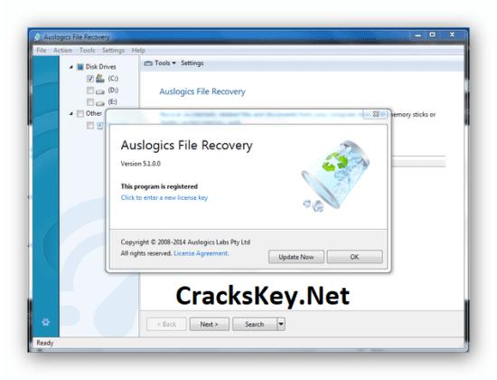 Auslogics File Recovery Keygen