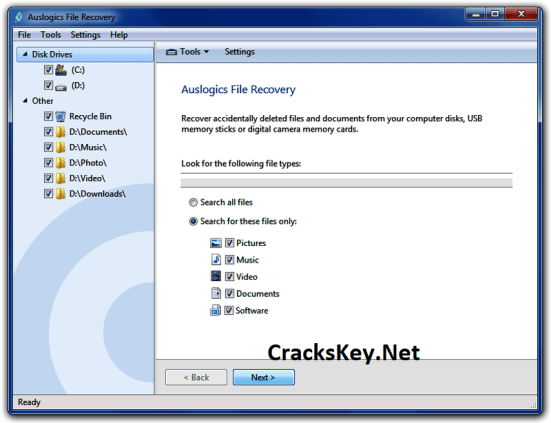 Auslogics File Recovery License Key