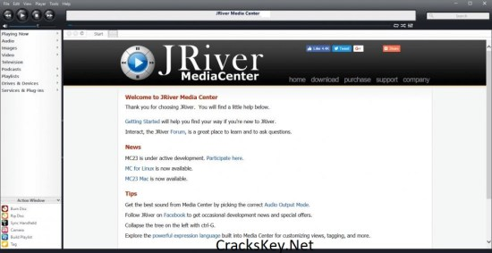 JRiver Media Center License Key