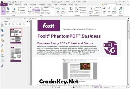 Foxit PhantomPDF Business Keygen