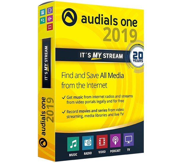 Audials One Platinum 2019 Crack