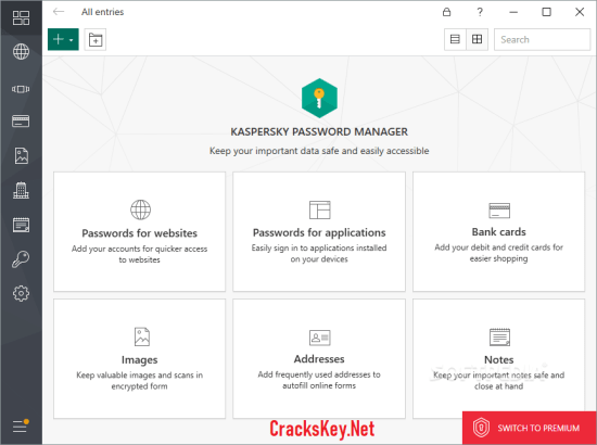 Kaspersky Password Manager 2019 Serial Key
