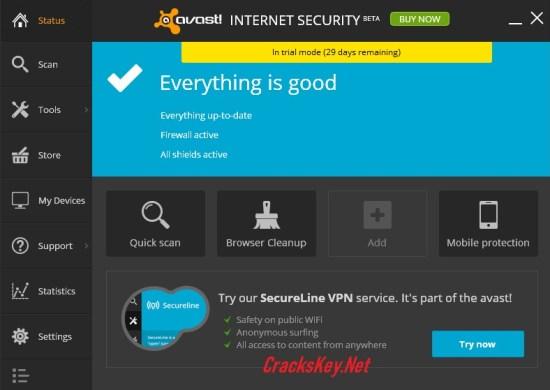 Avast Internet Security License Key