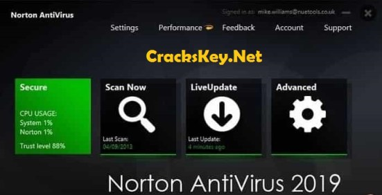Norton Antivirus 2019 Product Key