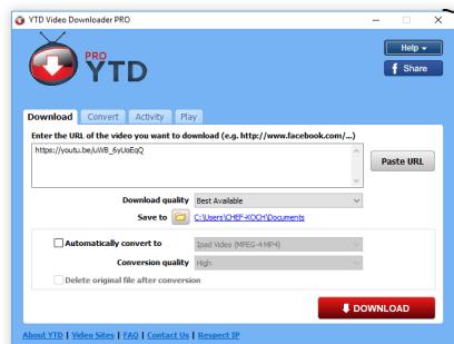 YTD Video Downloader Pro 5.9.13.5 Crack + Serial Key Free Download