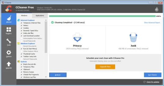 CCleaner PRO 5.61.7392 Crack Keygen Full Version Free Download