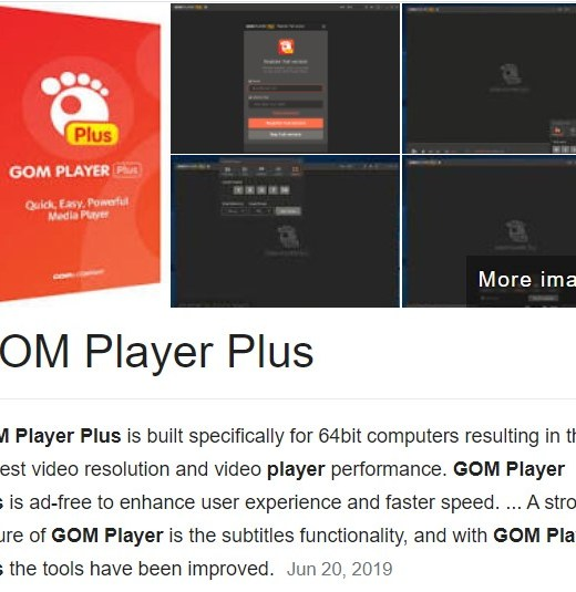 GOM Player Plus Crack + License Key 2020