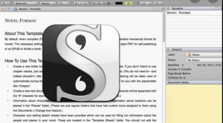 Scrivener 1.9.16.0 Full Crack + License KEY Portable Latest