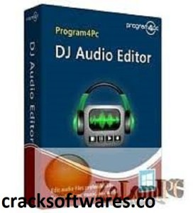 Program4Pc DJ Audio Editor 8.2 With Crack Download Latest 2021