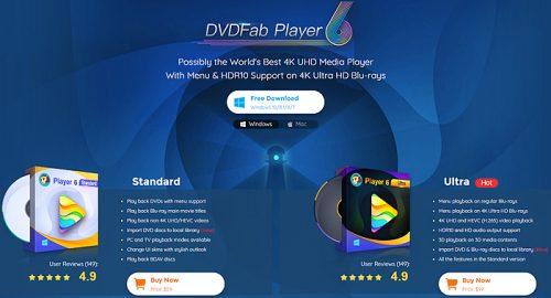 DVDFab Player 6.1.0.7 Crack & Product Key Free [Latest]